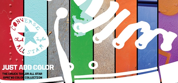 Converse Just Add Color Banner