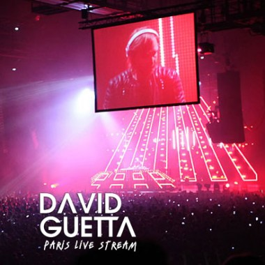 David Guetta live stream @Paris Bercy for EMI and Orange