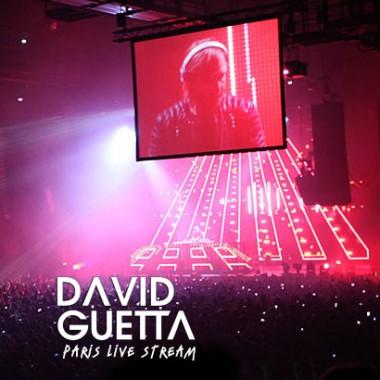 David Guetta live stream video production 8020 Films