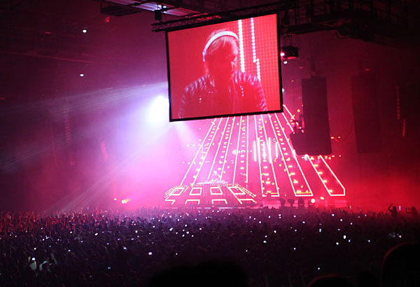 David Guetta live at Bercy