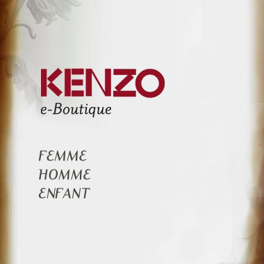 eKenzo website screenshot