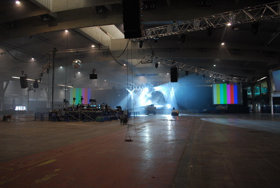 Welcome to one of the Sonar venues, 10k capacity